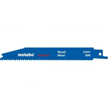 """Полотно для сабельных пил METABO, серия """"Pionier"""", BIM, 150x0,9 мм, 2 шт. (631911000)"""